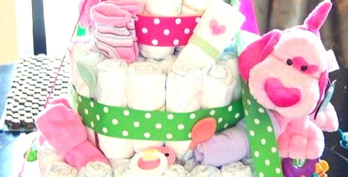 ママ友への出産祝いに最適!おむつケーキって一体何!?